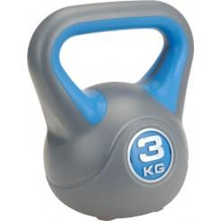 XQ Max  Kettlebell  plastic (3kg)