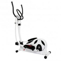 Christopeit CS 5 Wit/Zwart - Crosstrainer Klasse HC mechanisch